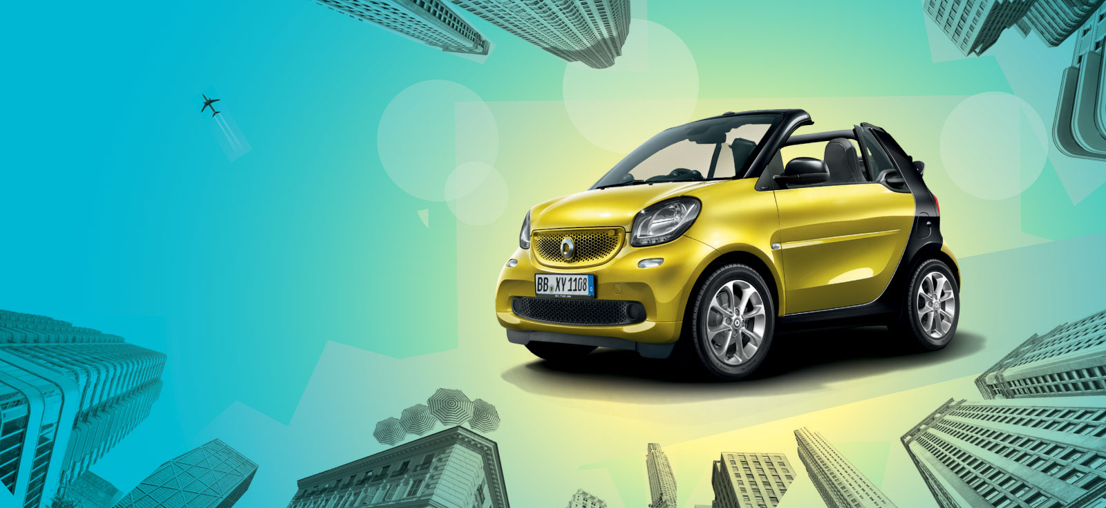 Smart fortwo cabrio deals new smart fortwo cabrio cars for Mercedes benz smart car for sale