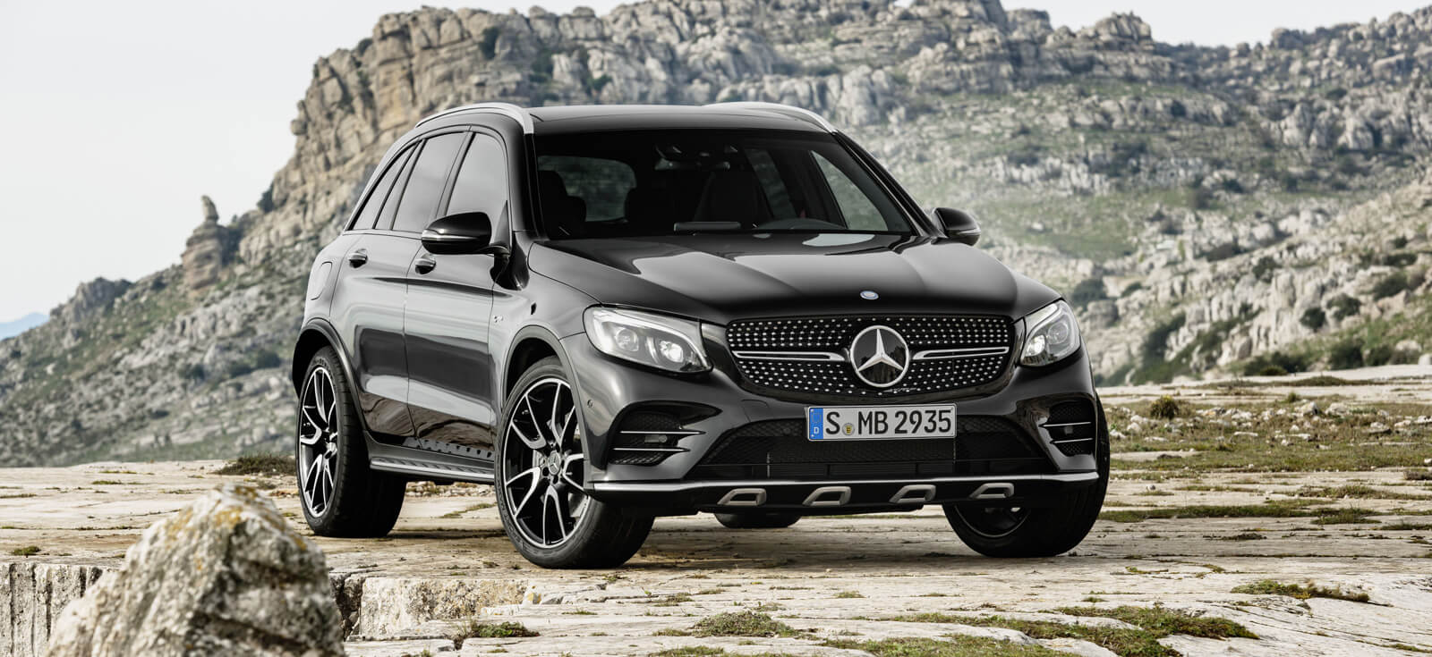 The new Mercedes-AMG GLC 43 4MATIC