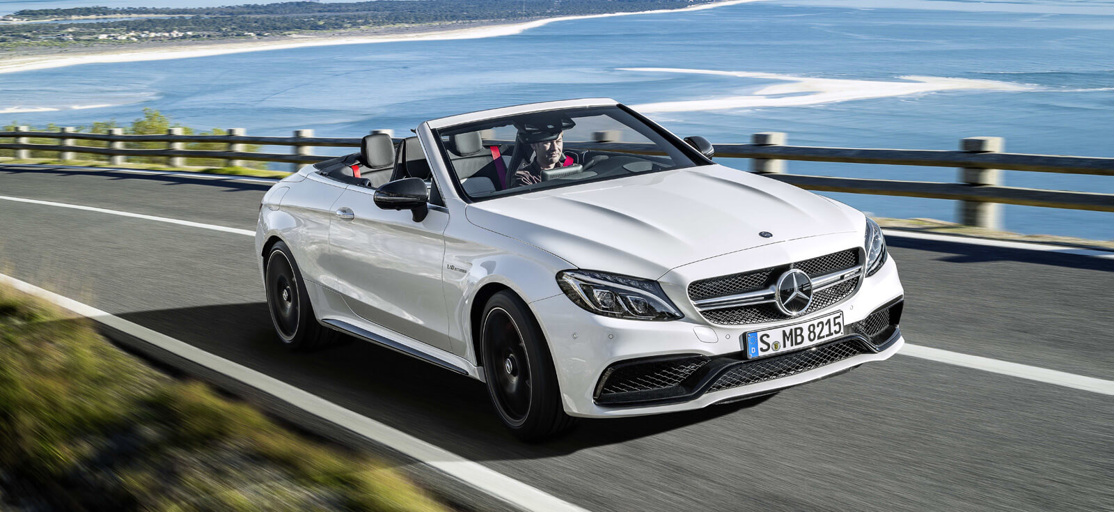 The new Mercedes-AMG C 63 Cabriolet