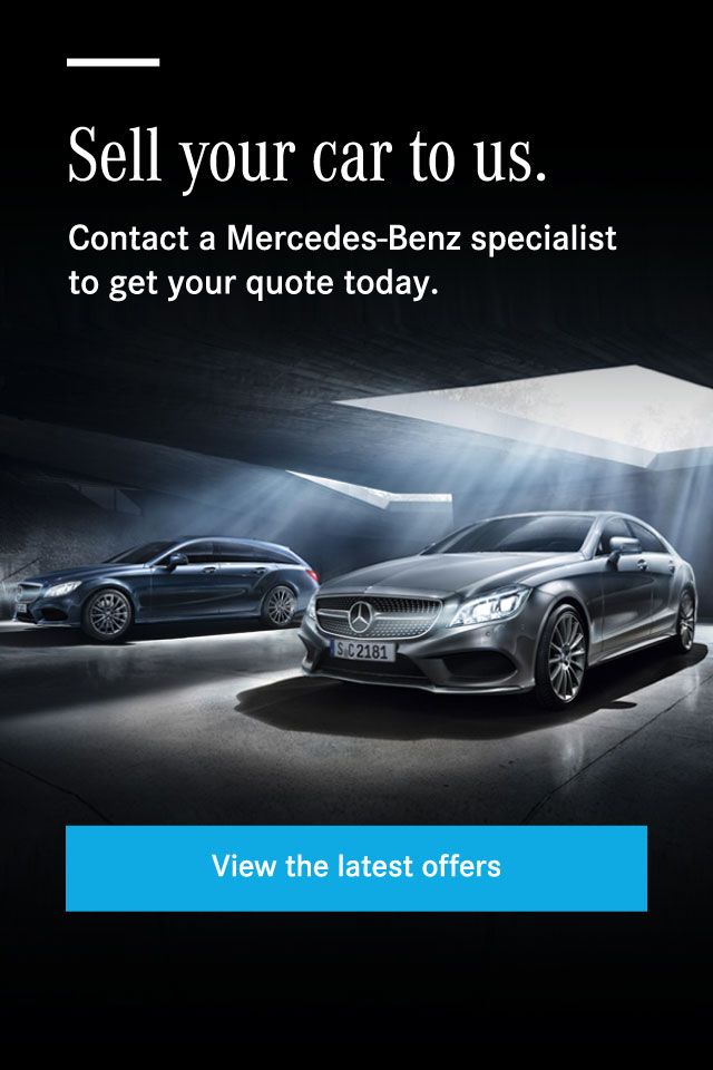 Mercedes-Benz - Sell your Mercedes-Benz