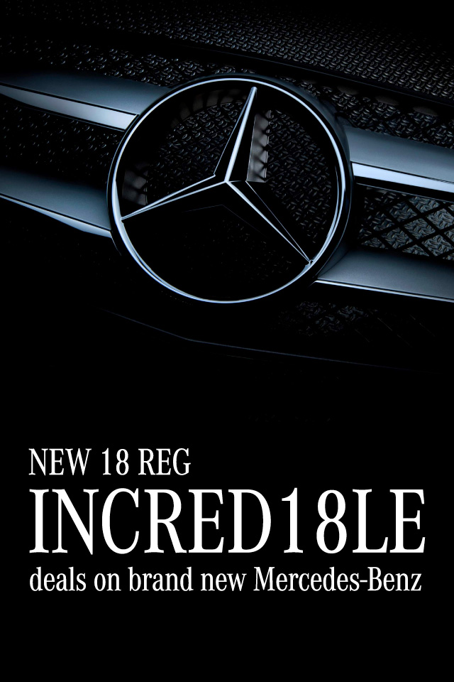 Incred18le - 18 Reg Mercedes-Benz