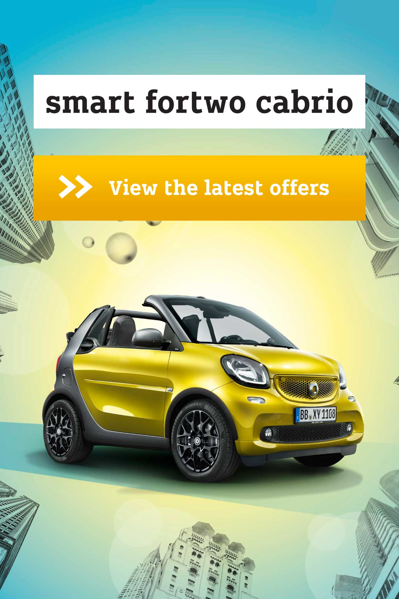 smart fortwo cabrio offer BB 120418