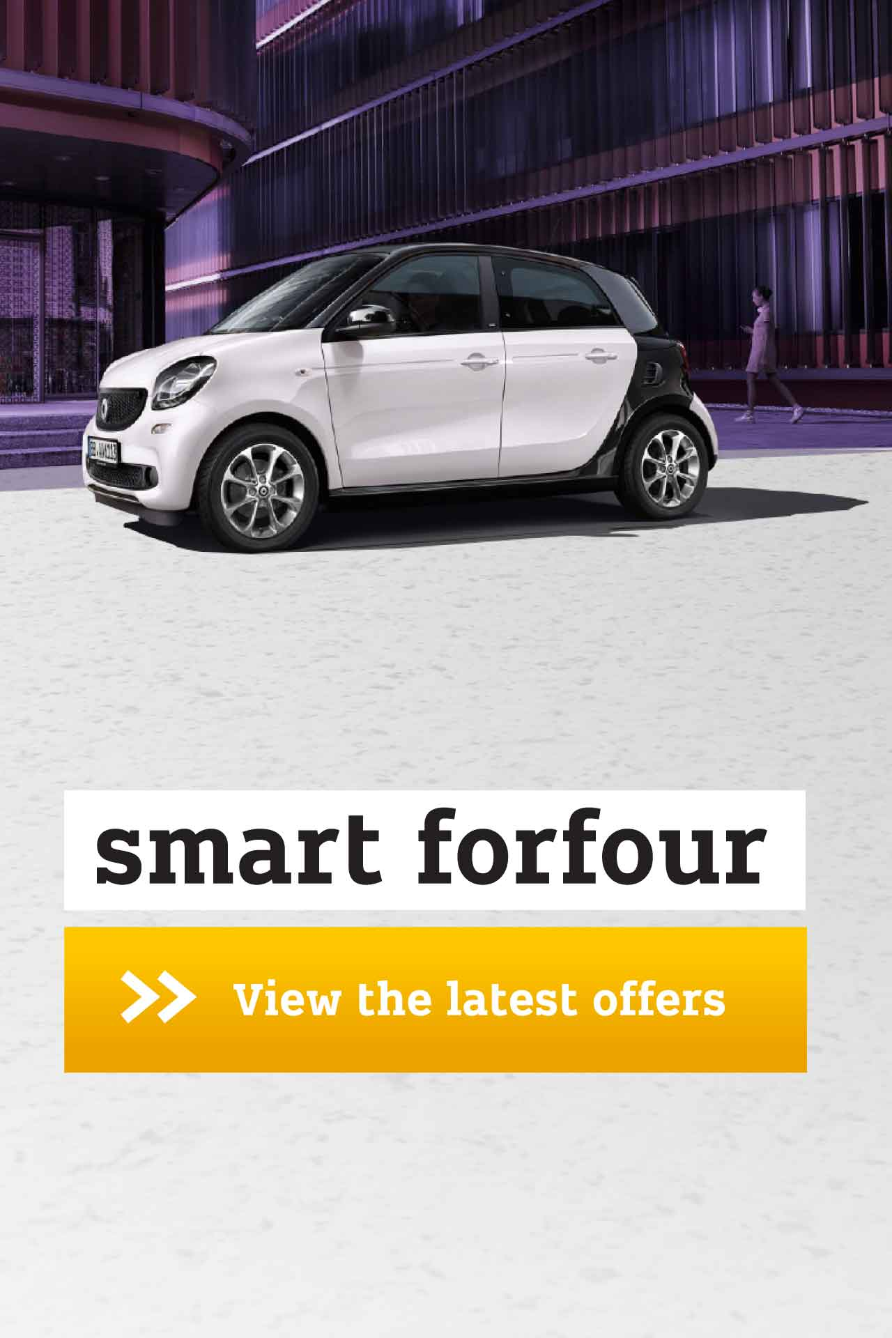 smart forfour Passion offer BB 120418