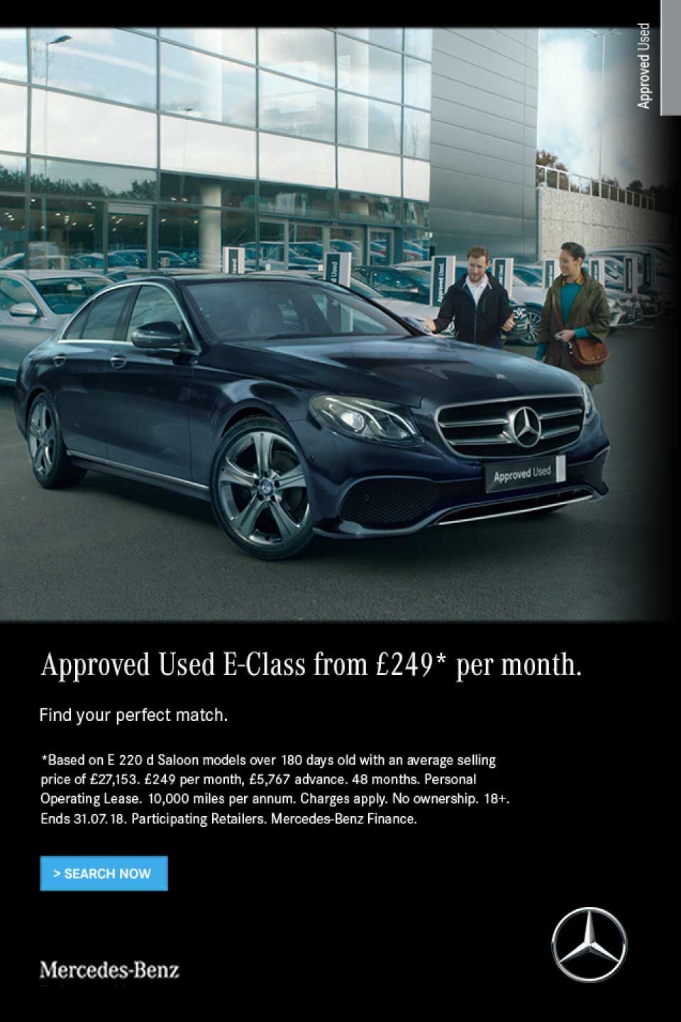 Mercedes-Benz E-Class Approved Used