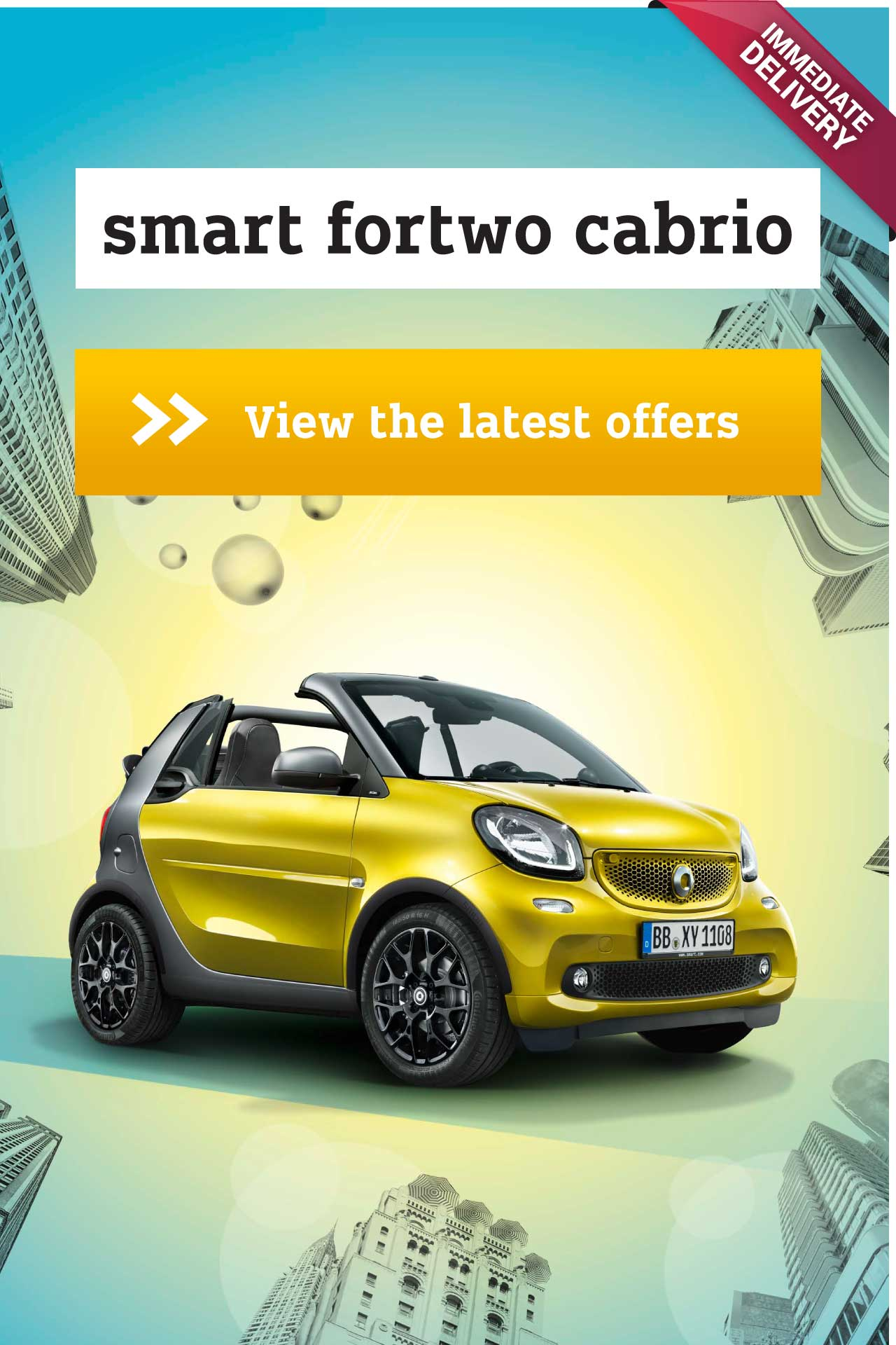 smart for two cabrio offer BB 170918