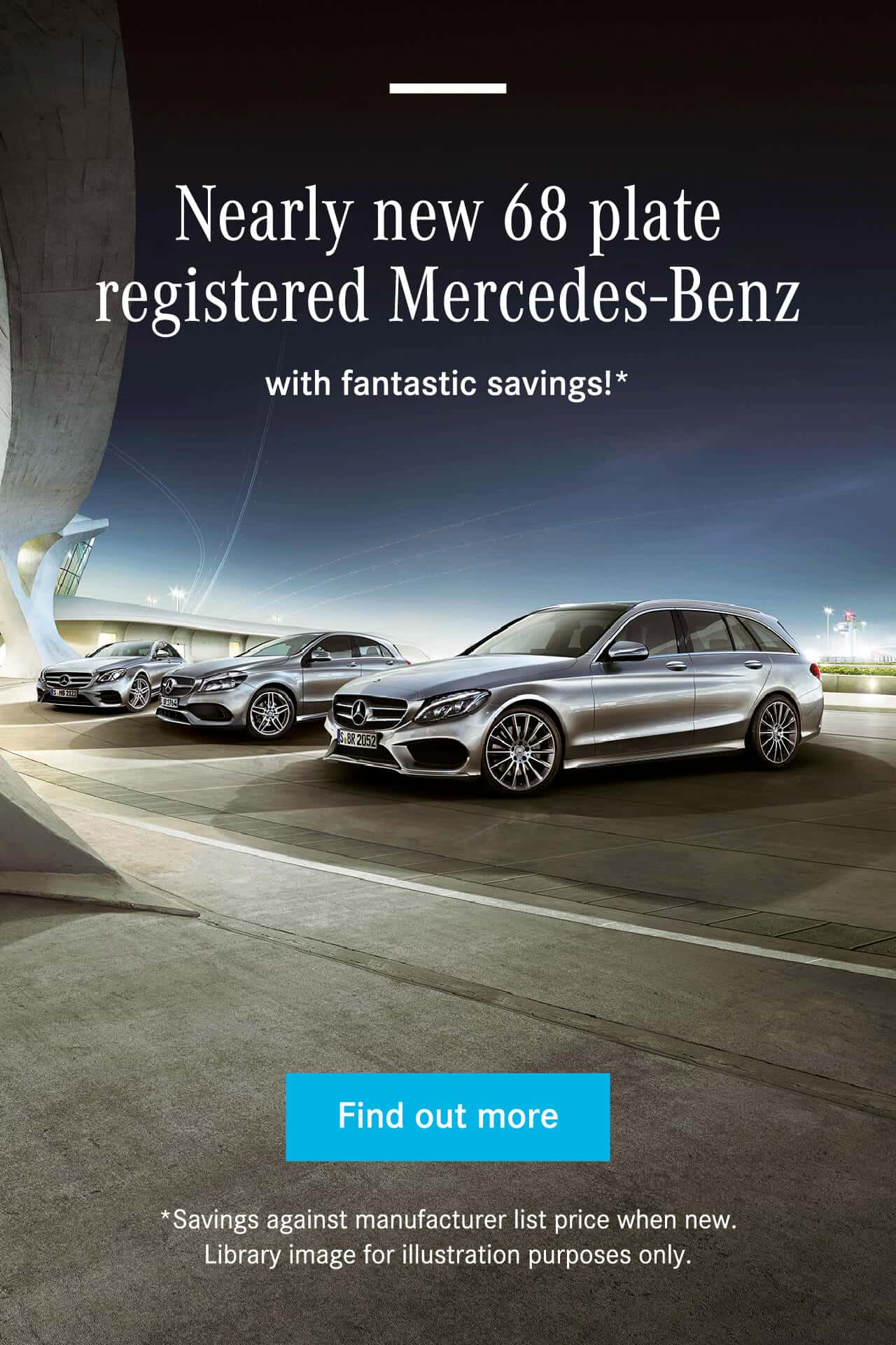 Mercedes-Benz Nearly New offers BB