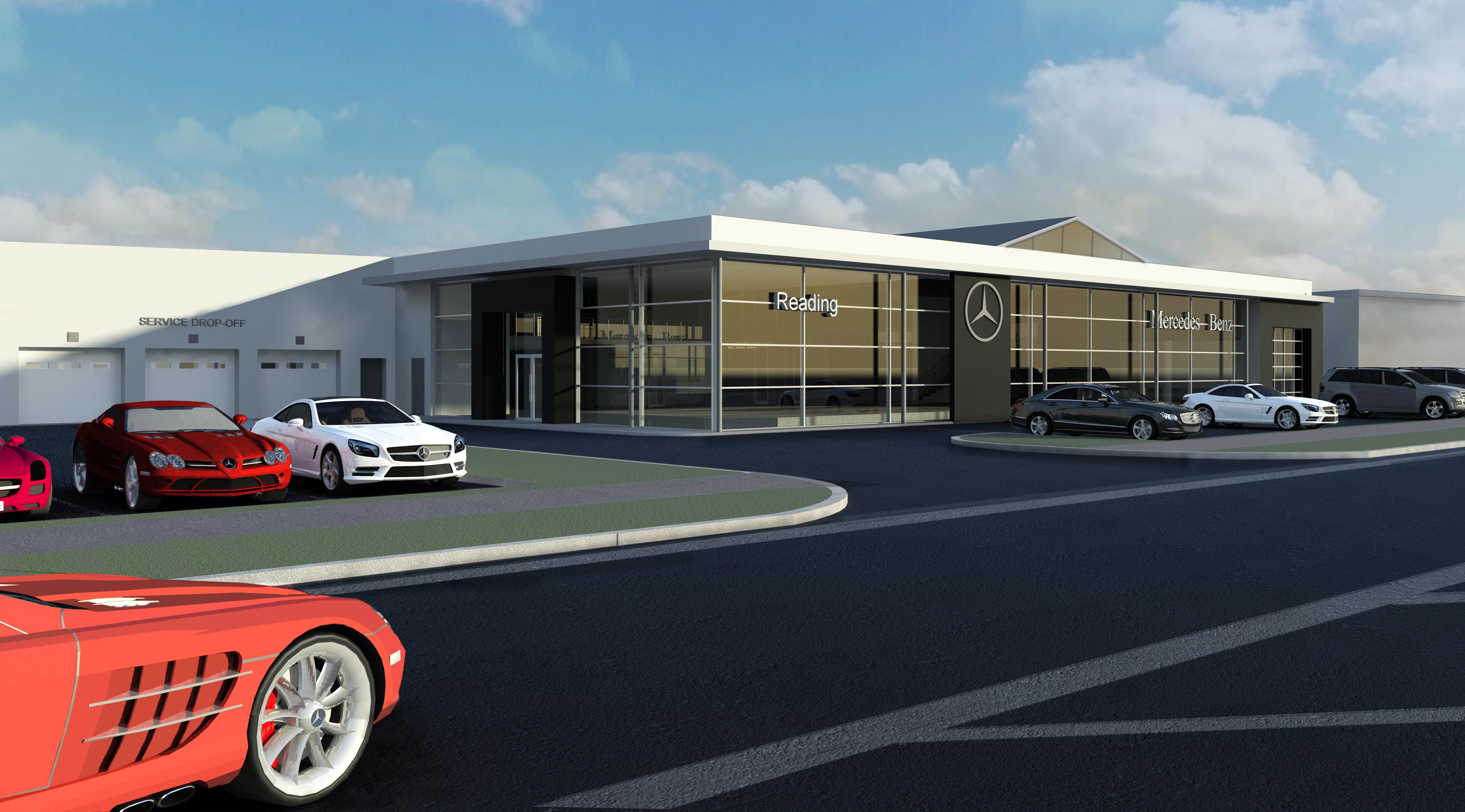 Vertu Motors invests �4.7 million in Mercedes-Benz Reading