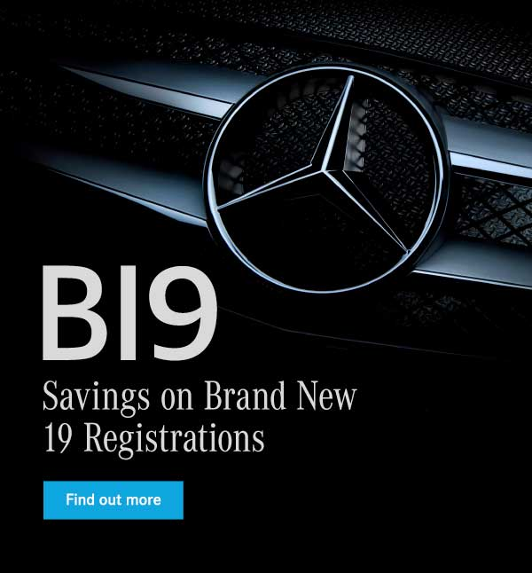 New 19 Reg Header - Mercedes-Benz