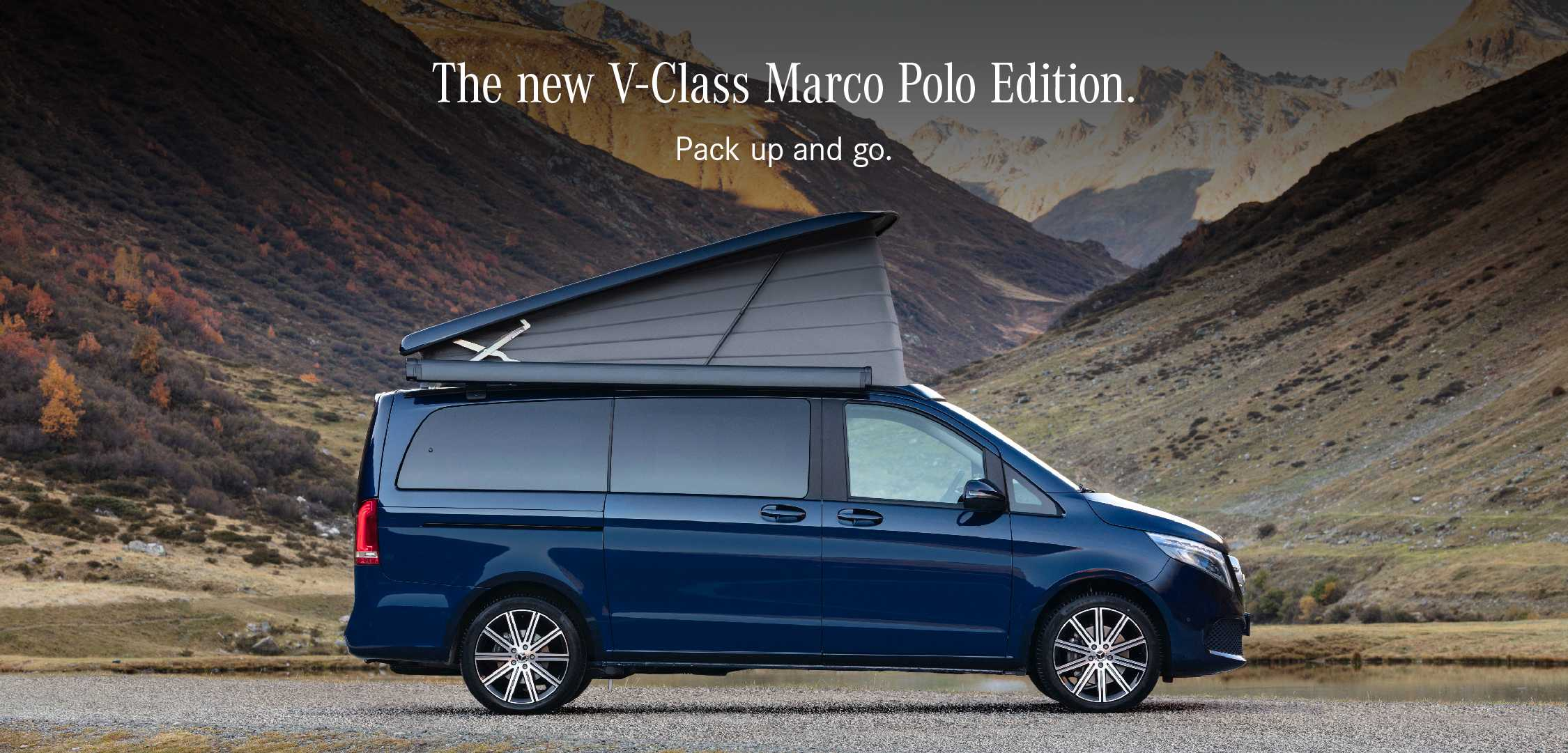 The New V-Class Marco LP Banner
