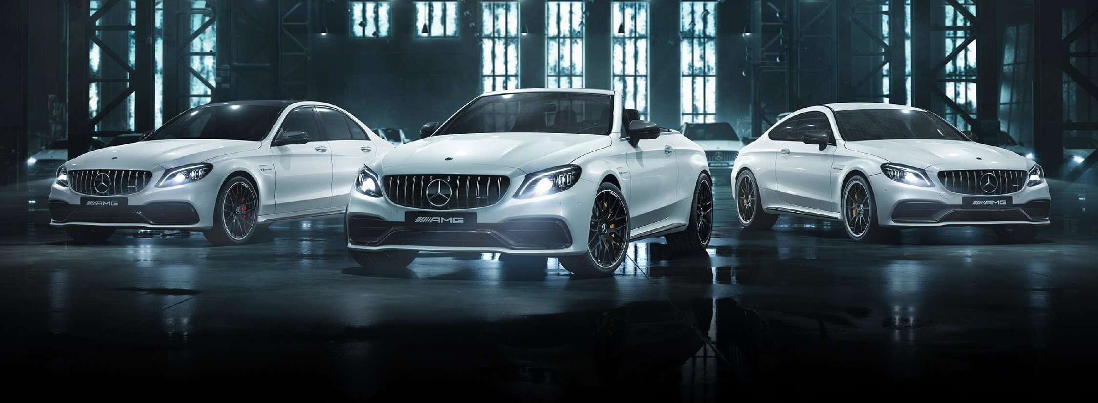 The New Mercedes-AMG C 63 Coup� LP Banner