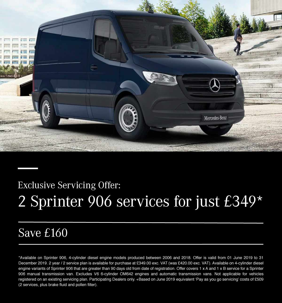 Sprinter Van Service Offer