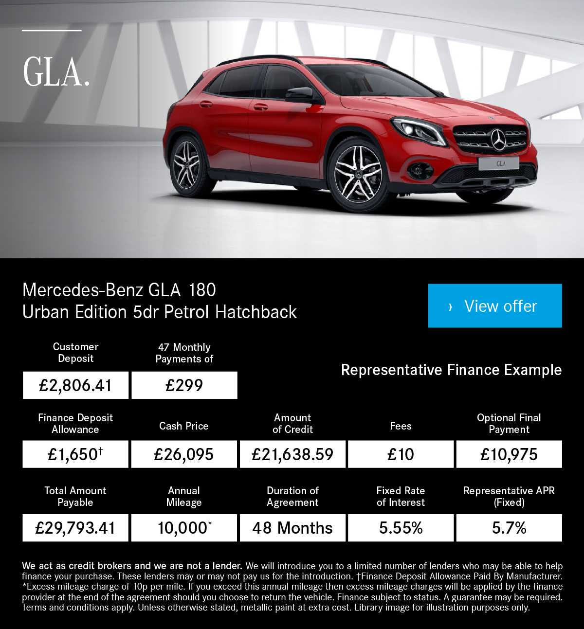 New Mercedes-Benz GLA AMG Line Cars For Sale