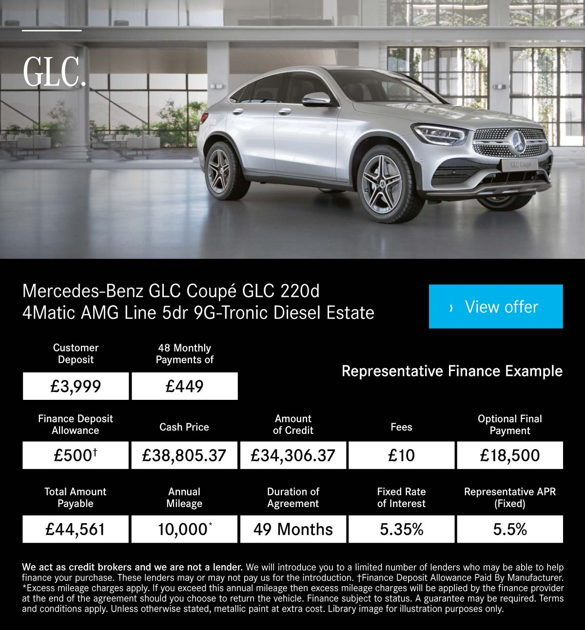 (Mercedes GLC Coupe) Mercedes GLC Coupe Q4 161019
