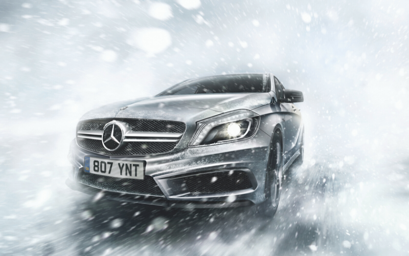Mercedes-Benz Guide to Winter Driving