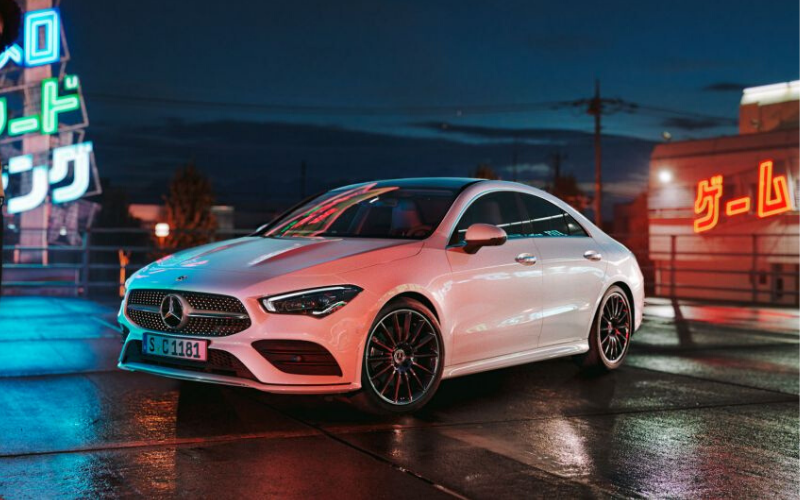 The Mercedes-Benz CLA Gets Top Marks in Euro NCAP Safety Tests