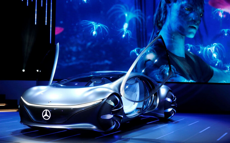 Mercedes-Benz Unveil Concept Car Inspired By Film Avatar