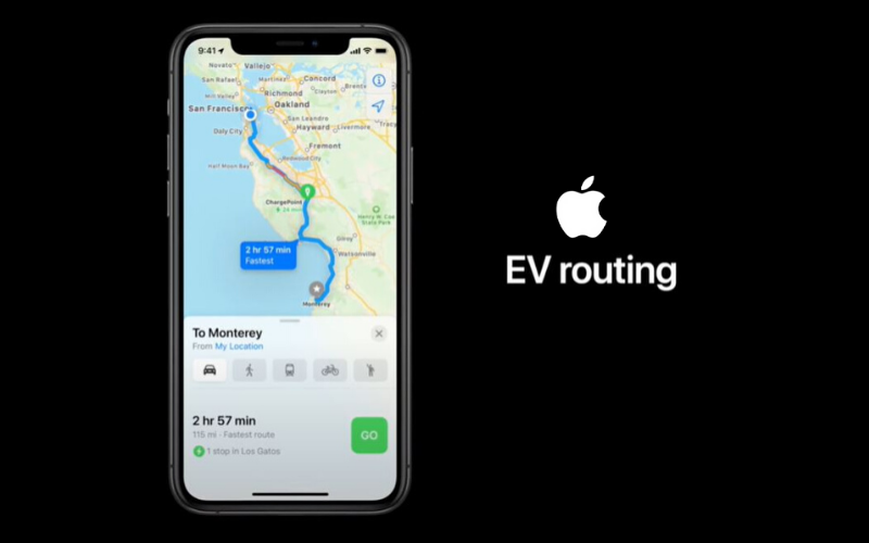 Good News For Mercedes EQC Drivers: Apple Maps Now Include EV Charge Routing