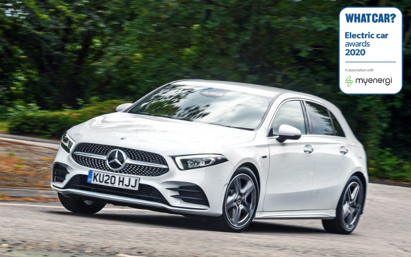 The A-Class Has Won Best Family Hybrid At The What Car? Electric Car Awards