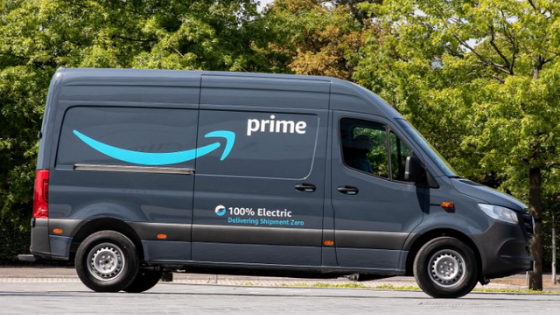 Amazon Orders 1,800 Mercedes-Benz Electric Delivery Vans For UK And EU