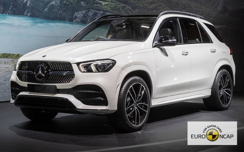 Mercedes-Benz GLE Awarded 'Very Good' Rating in Euro NCAP Assisted Driving Test