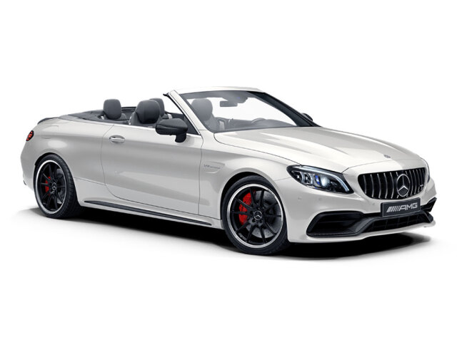 Mercedes-AMG C-Class C63 S 2dr 9G-Tronic Petrol Cabriolet