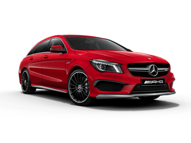 Mercedes-AMG CLA 45 4Matic 5dr Tip Auto [Map Pilot] Petrol Estate