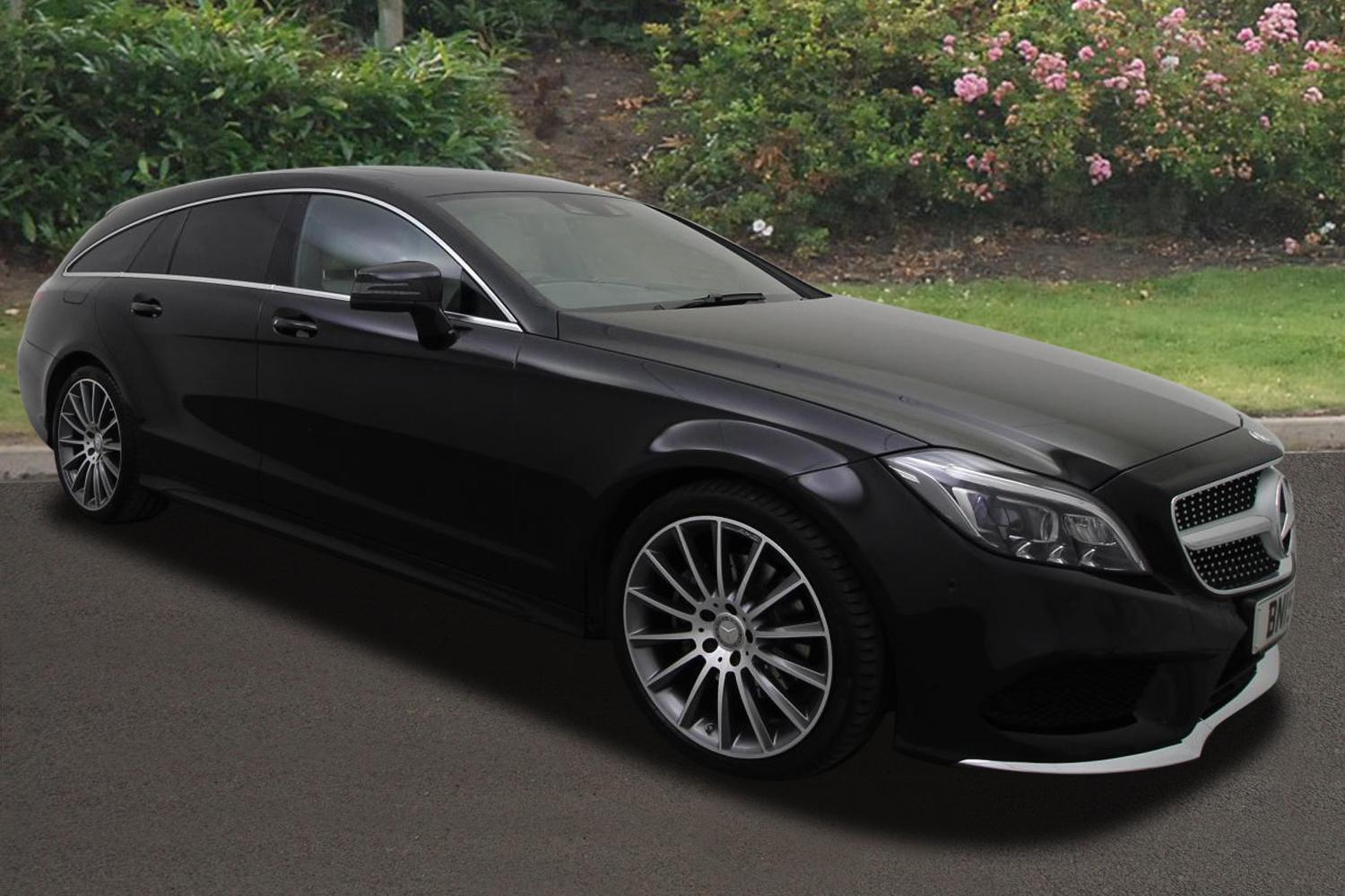 Used mercedes benz cls shooting brake cls 220 bluetec amg for Brake lining wear mercedes benz e320