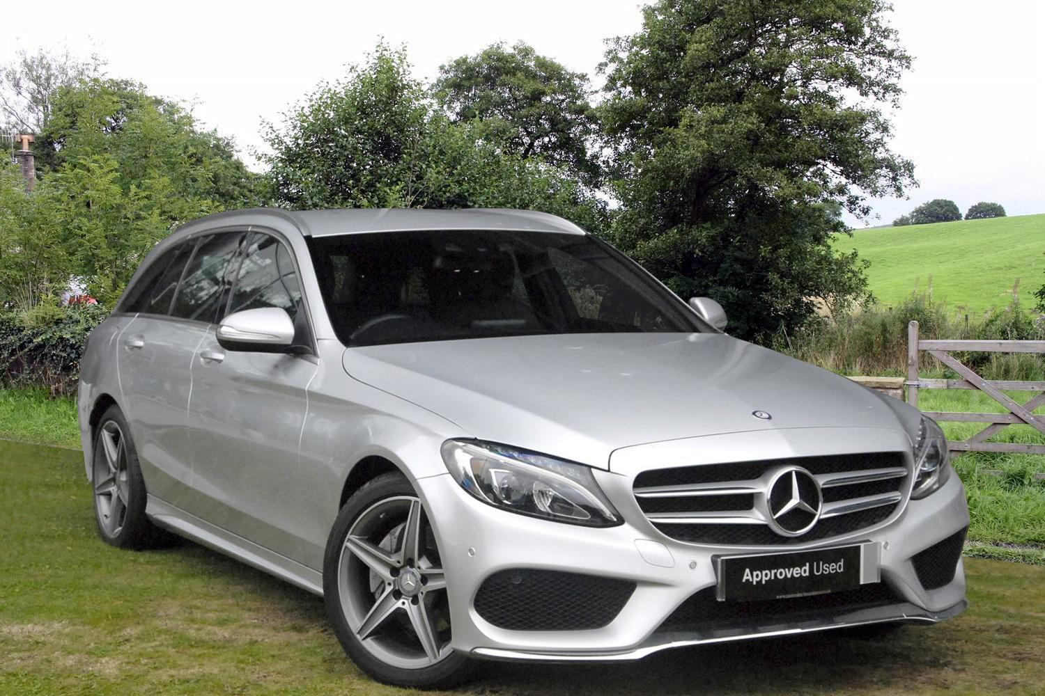 Used mercedes benz c class c220 bluetec amg line 5dr auto for Mercedes benz bluetec diesel