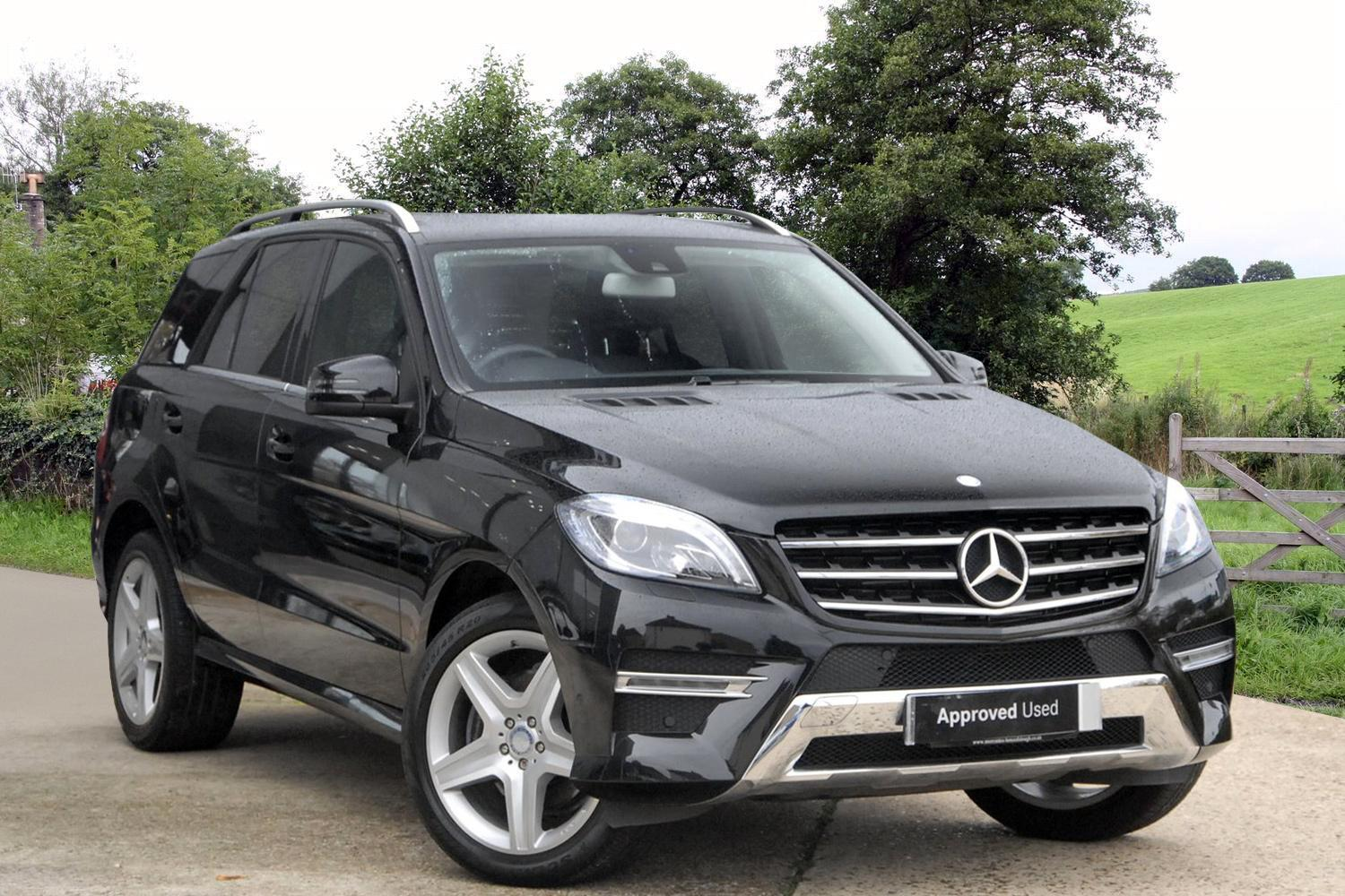 Used mercedes benz m class ml350 cdi bluetec amg line 5dr for Mercedes benz ml350 bluetec