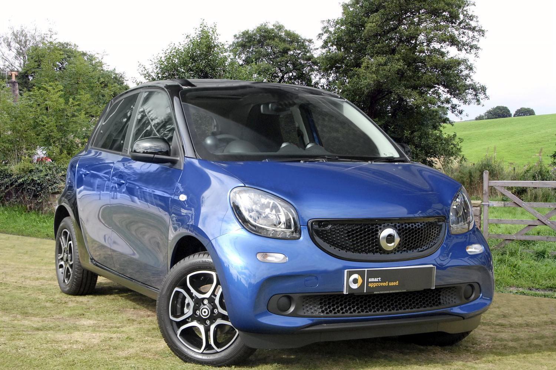Used smart forfour hatchback 1 0 prime premium 5dr petrol for Prime motor cars mercedes benz
