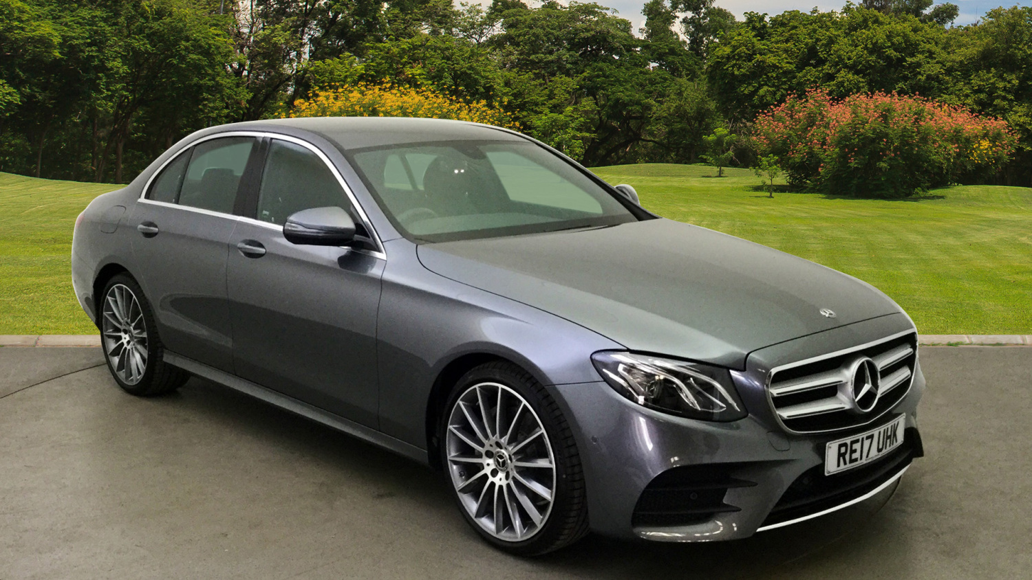 Used mercedes benz e class e200d amg line 4dr 9g tronic for Used mercedes benz