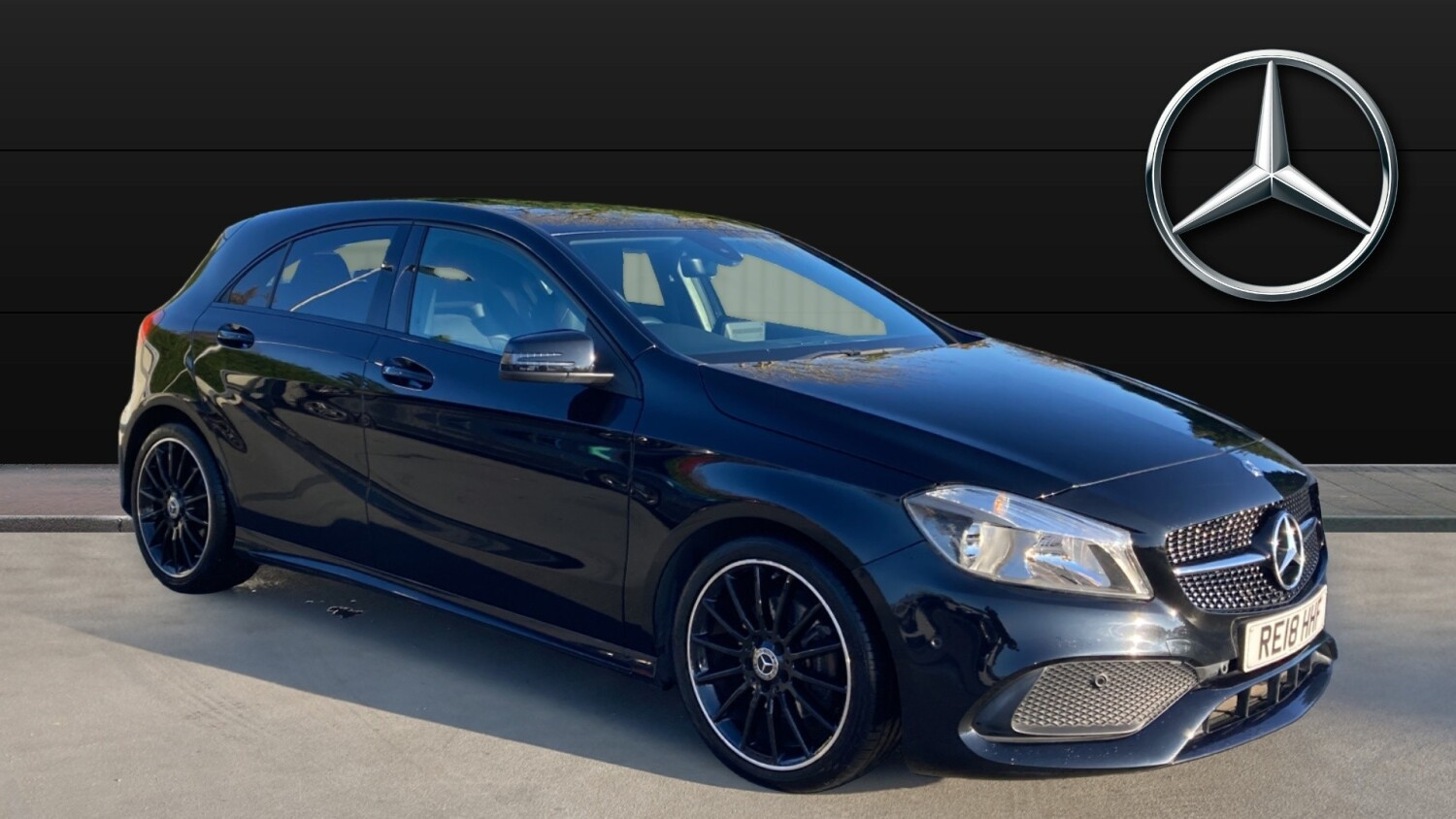 Used Mercedes Benz A Class A180 Amg Line Executive 5dr Auto Petrol