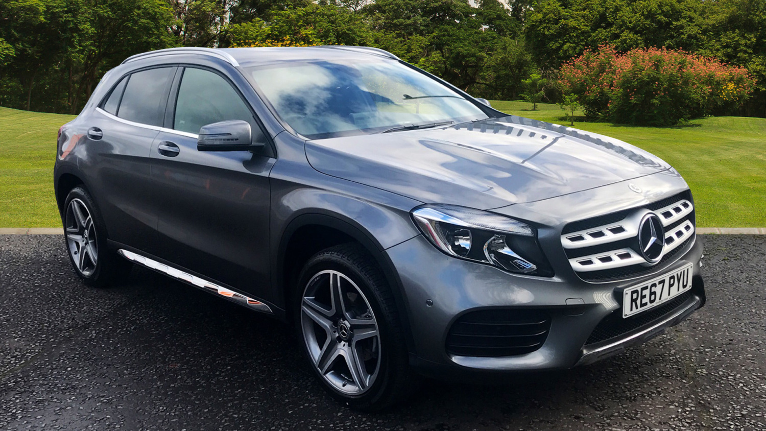 Used Mercedes Benz Gla Gla 200d 4matic Amg Line Executive