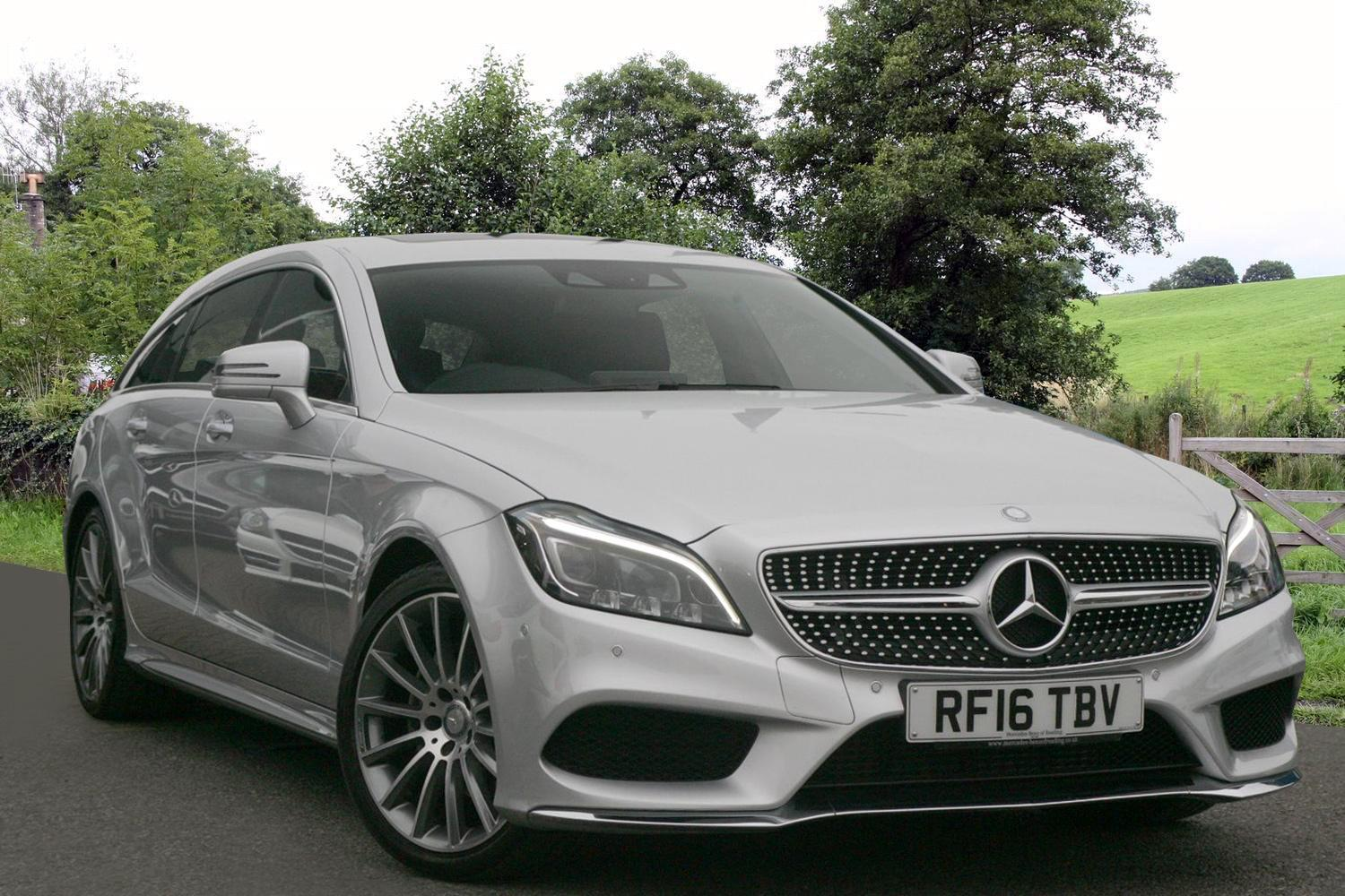 Used mercedes benz cls shooting brake cls 220 bluetec amg for Mercedes benz rt 22