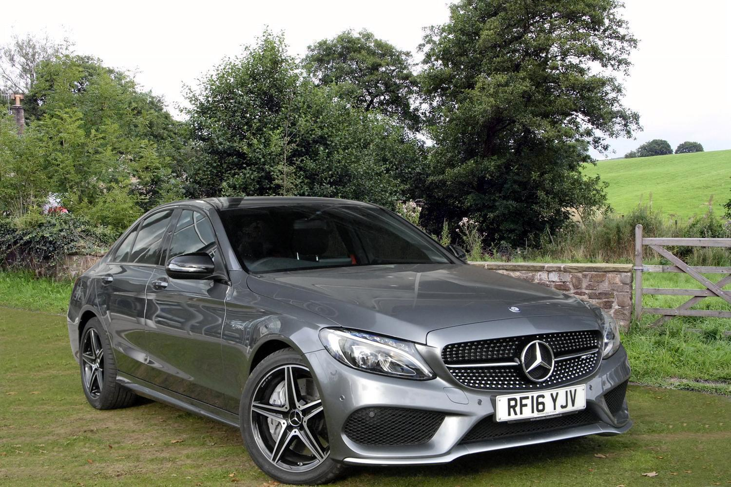 Used mercedes amg c class c43 4matic premium 4dr auto for Used mercedes benz c300 4matic for sale