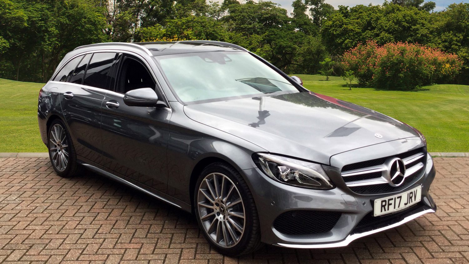 Used mercedes benz c class c220d amg line premium 5dr 9g for Mercedes benz employee discount