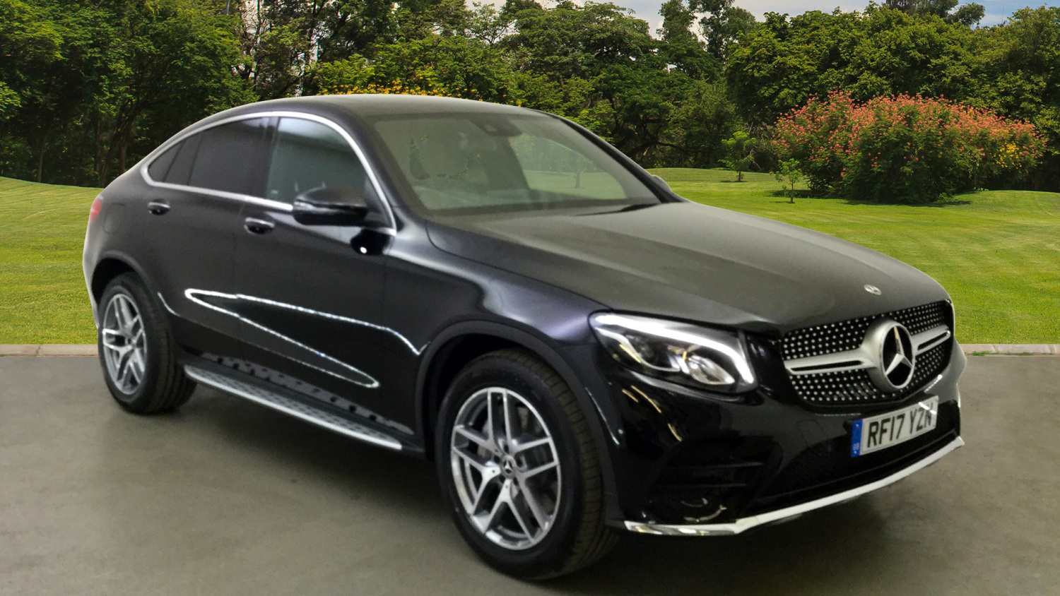 used mercedes benz glc coupe glc 350d 4matic amg line prem plus 5dr 9g tronic diesel estate for. Black Bedroom Furniture Sets. Home Design Ideas