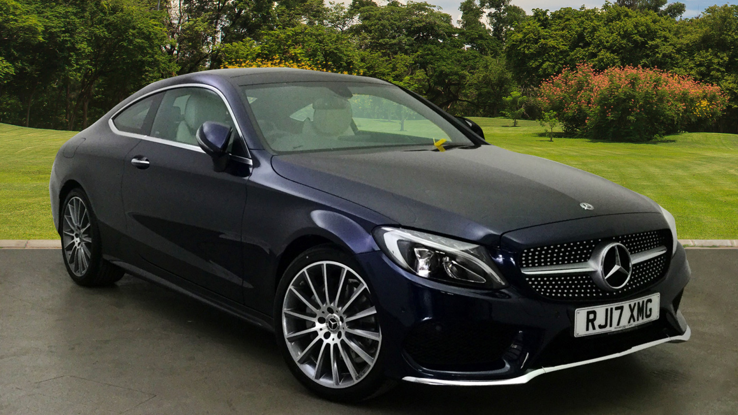 Used mercedes benz c class c200 amg line premium 2dr 9g for Mercedes benz line