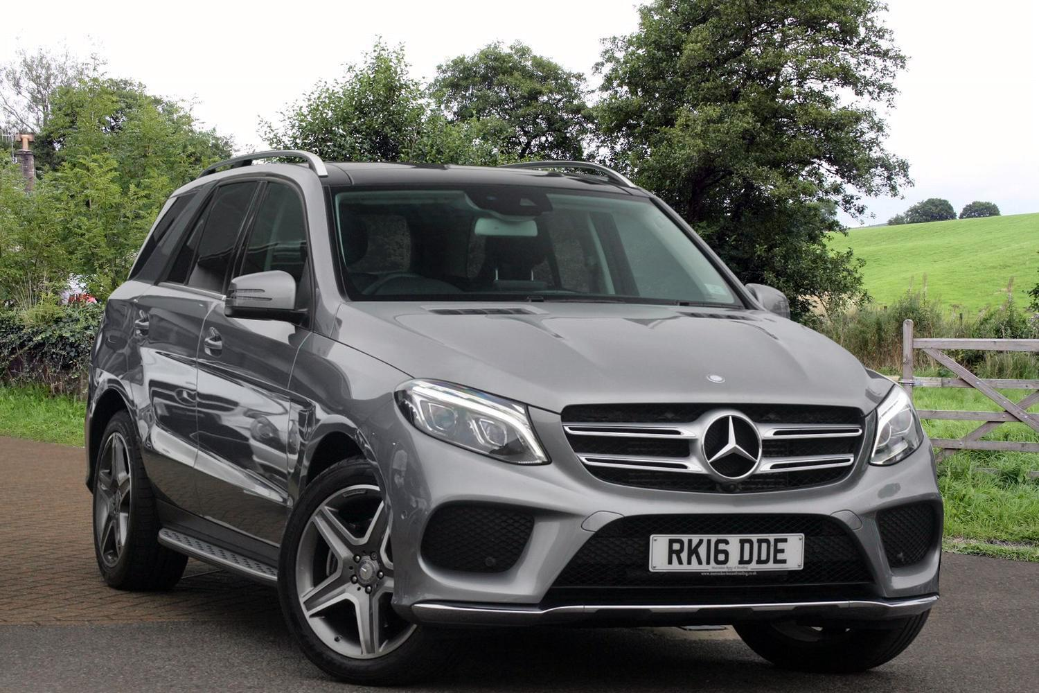 Used mercedes benz gle gle 250d 4matic amg line premium for Www used mercedes benz