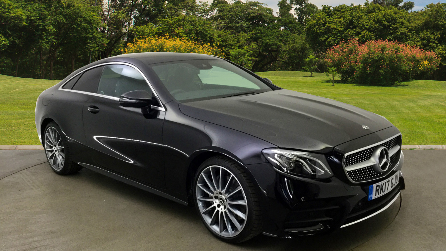 Used mercedes benz e class e220d amg line 2dr 9g tronic for Used mercedes benz coupe