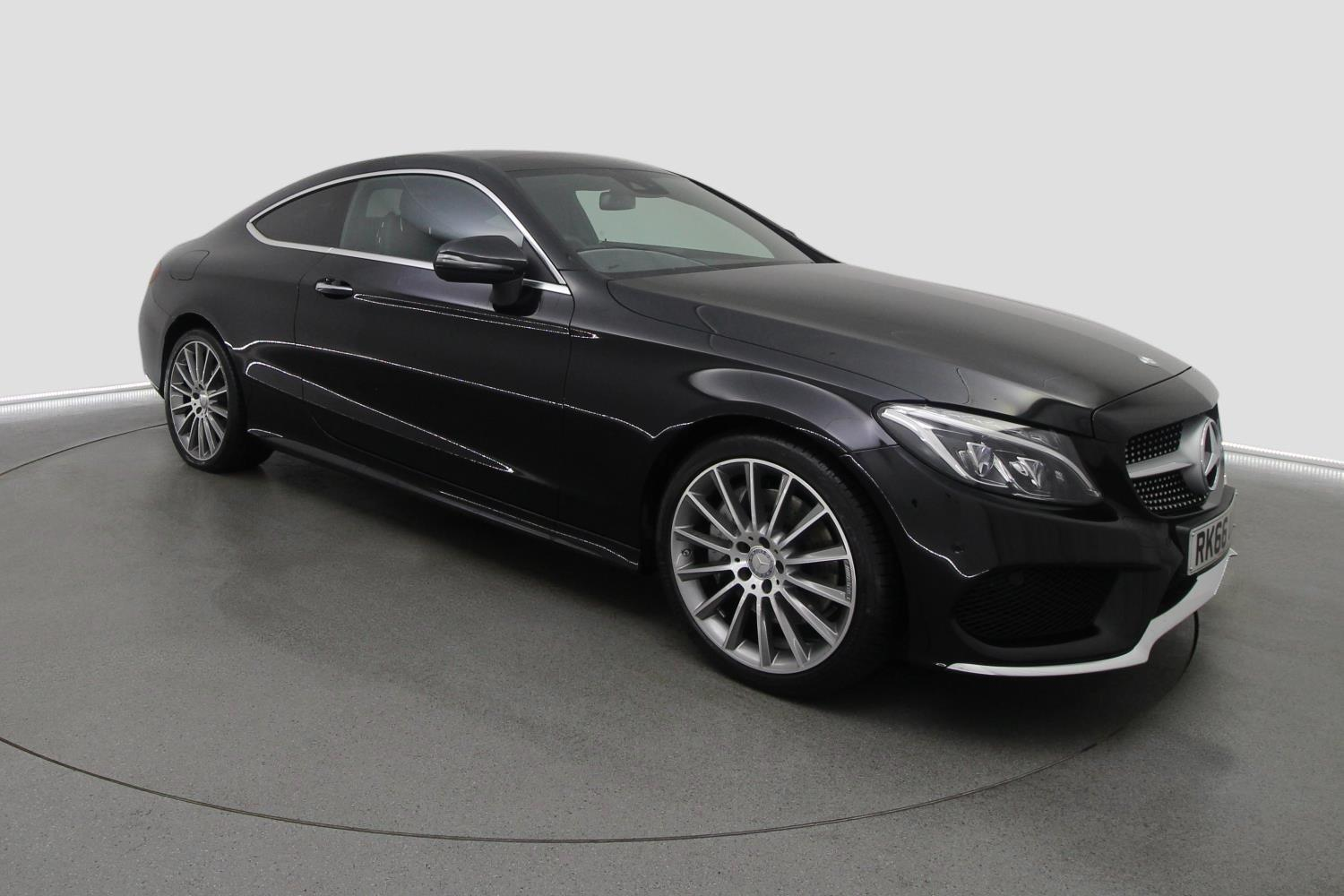 Used mercedes benz c class c250d amg line premium 2dr auto for Mercedes benz c class coupe used