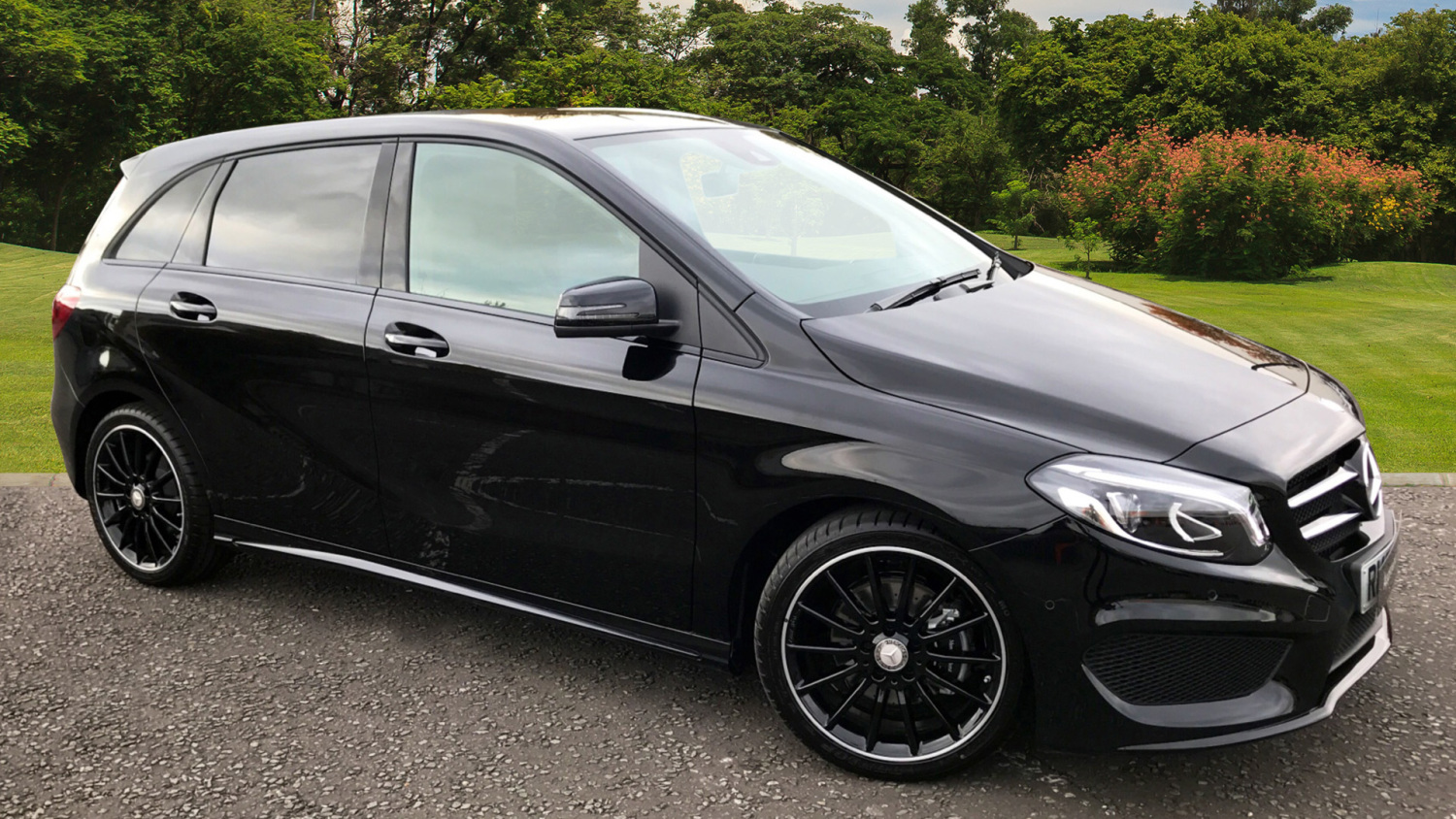 Used mercedes benz b class b200d amg line premium 5dr auto for Mercedes benz financial phone number
