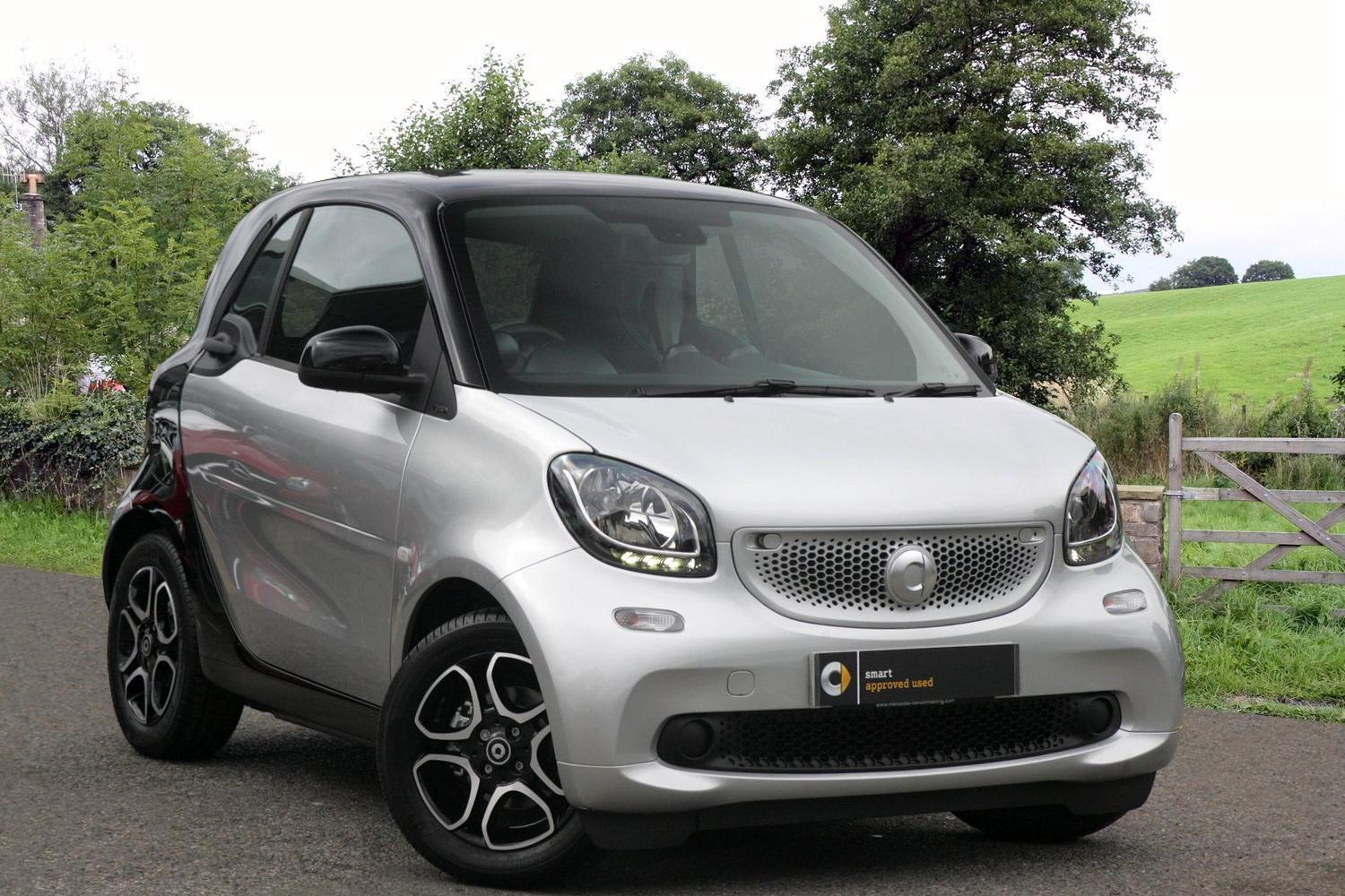 Used smart fortwo coupe 1 0 prime premium 2dr auto petrol for Mercedes benz smart car for sale