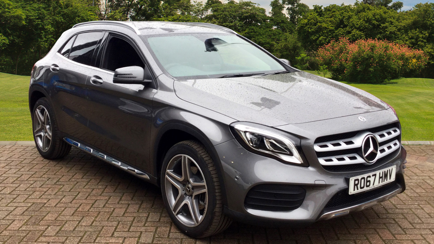 used mercedes benz gla gla 220d 4matic amg line 5dr auto diesel hatchback for sale vertu. Black Bedroom Furniture Sets. Home Design Ideas