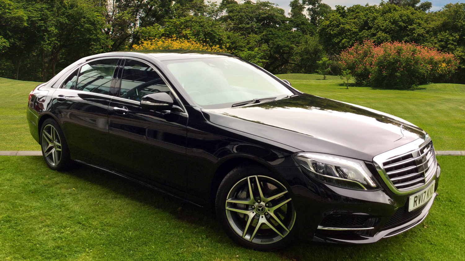 Used mercedes benz s class s350d l amg line 4dr 9g tronic for Diesel mercedes benz