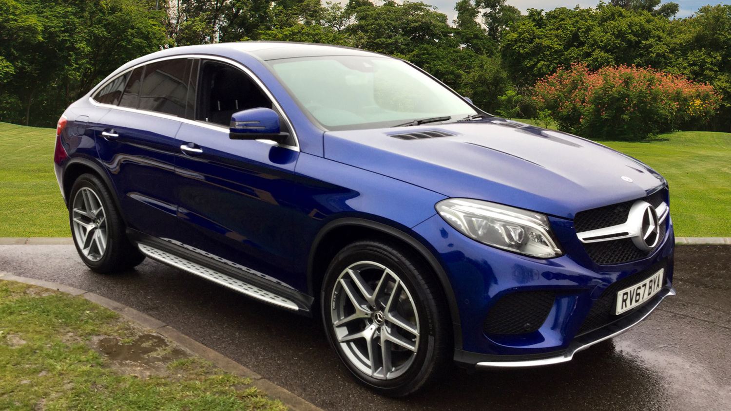 Used Mercedes Benz Gle Coupe Gle 350d 4matic Amg Line