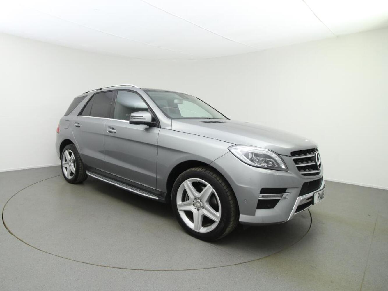 Used mercedes benz m class ml250 cdi bluetec amg line 5dr for Used mercedes benz diesel
