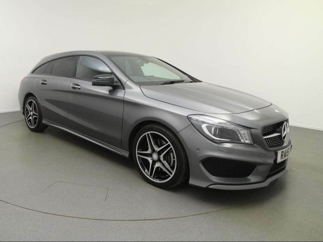 used mercedes benz cla cla 220 cdi amg sport 5dr tip auto diesel estate for sale vertu. Black Bedroom Furniture Sets. Home Design Ideas