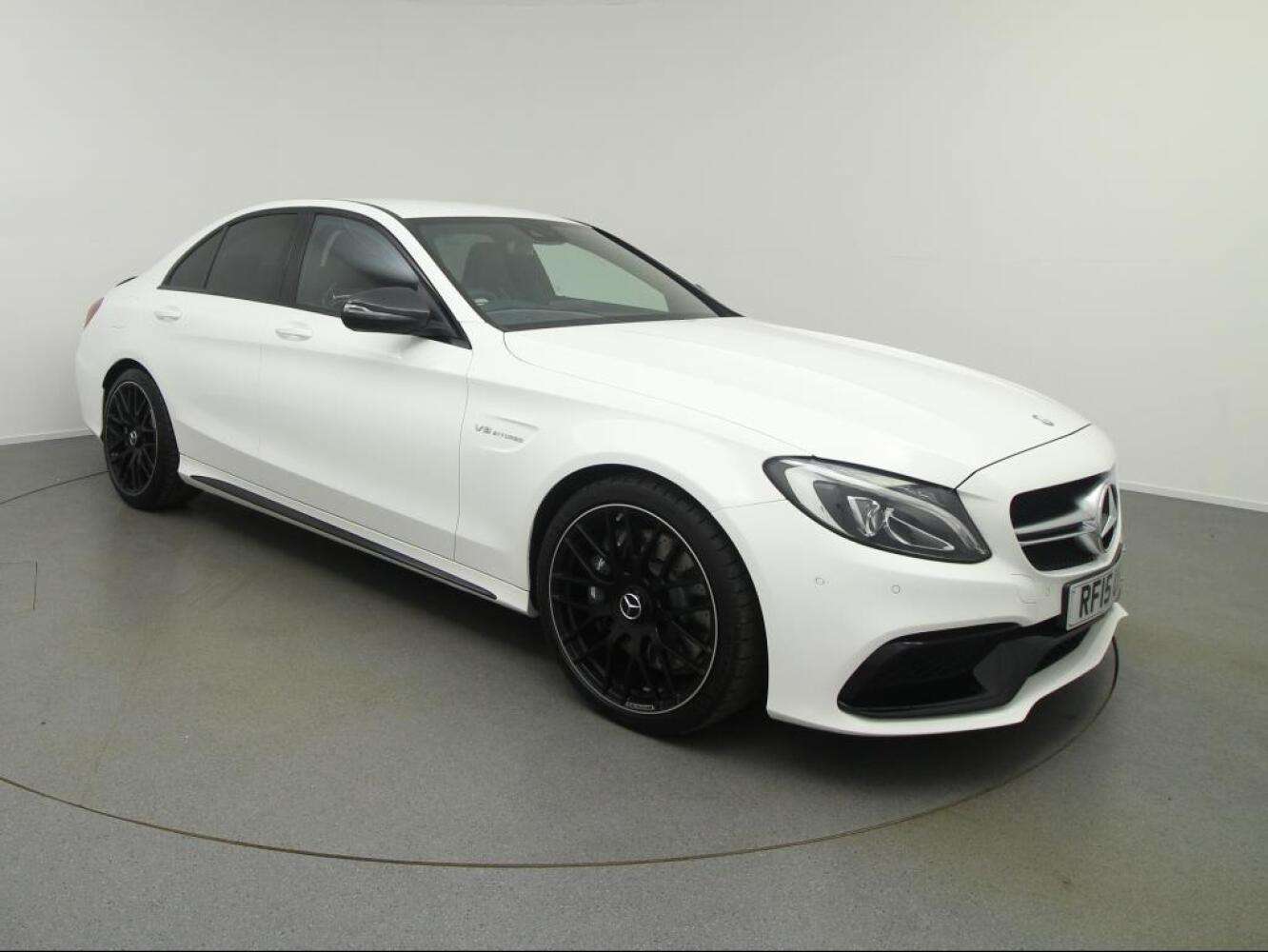 Used mercedes amg c class c63 4dr auto petrol saloon for for Used mercedes benz c63