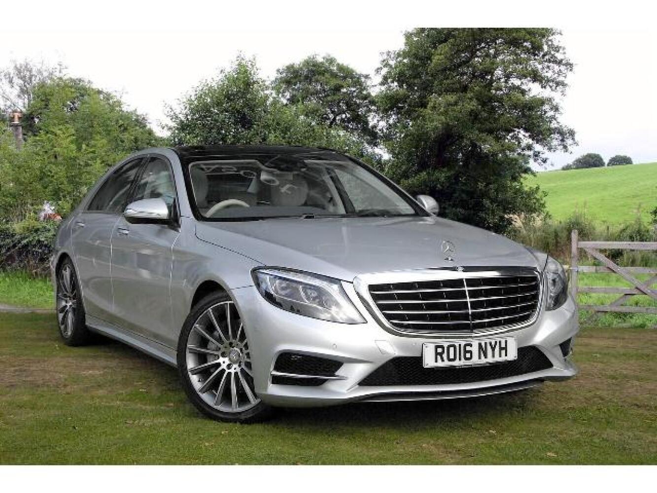 Used Mercedes Benz S Class S350d Amg Line 4dr Auto Diesel